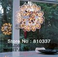 NEW 60cm 60 lights Bubbles Glass Suspension Pendant Lamp lighting Chandelier ems free shipping