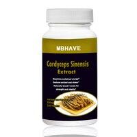 2 Bottles CS 4 250PCS Cordyceps Sinensis Extract Mushroom Extract