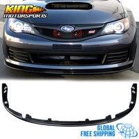 Fits 08 10 Subaru Impreza WRX STI Front Bumper Lip PP Global Free Shipping Worldwide