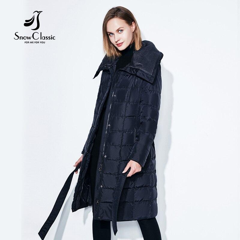 SnowClassic-kevättakki naisten talvitakki naisten lämmin - Naisten vaatteet - Valokuva 4