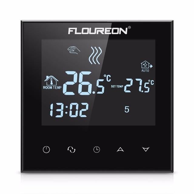 Floureon Lcd Touchscreen Thermostat Warmen Boden Heizung System