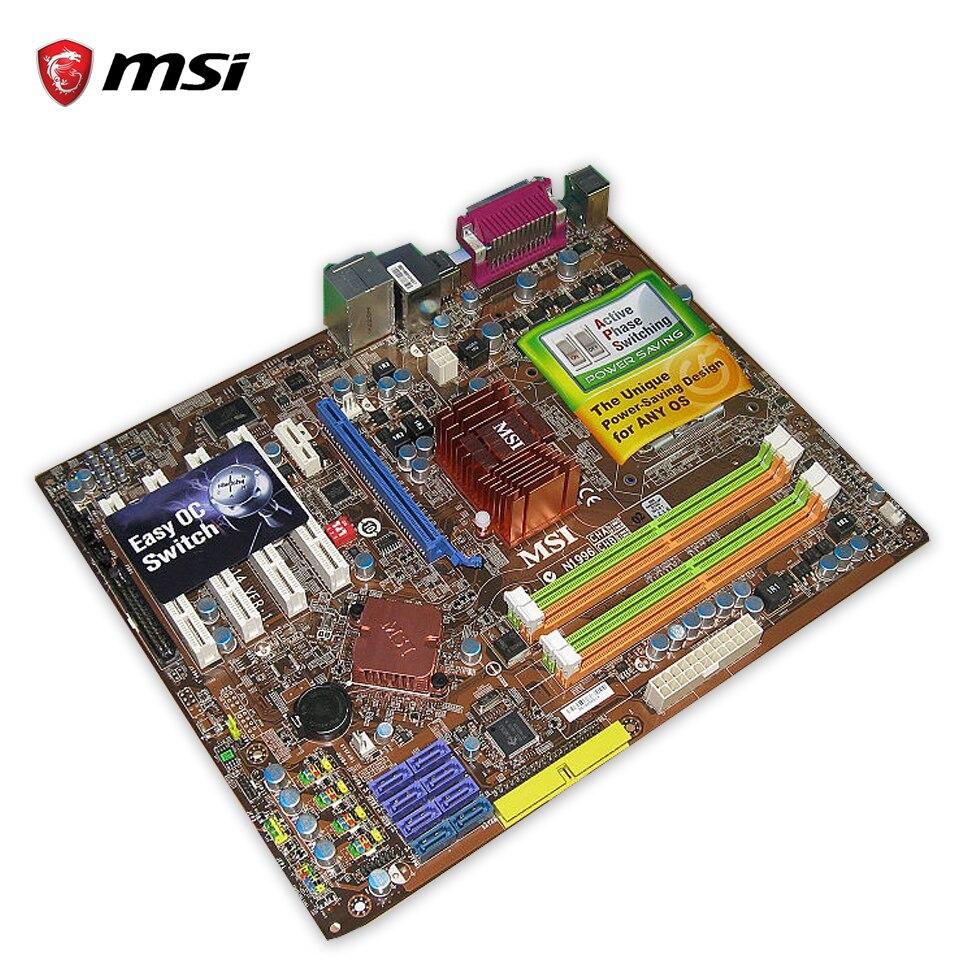 MSI P45 NEO3-F Original Used Desktop Motherboard P45 Socket LGA 775 DDR2 16G SATA2 USB2.0 ATX used motherboard mainboard for msi p31 neo2 lga 775 ddr2 usb2 0
