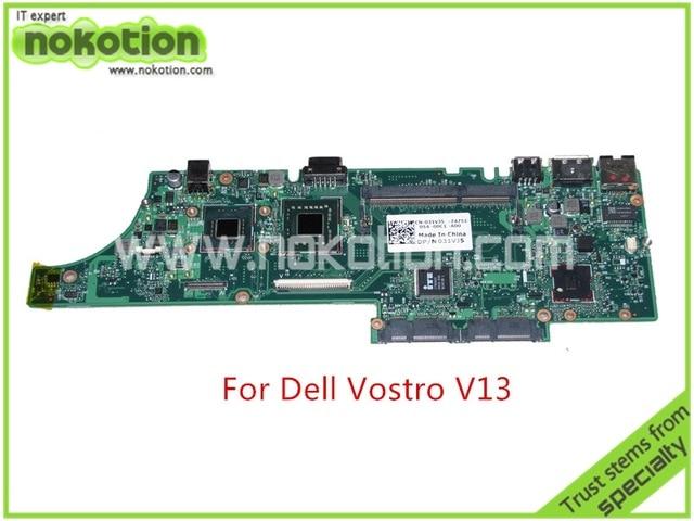 ФОТО CN-031VJ5 031VJ5 for dell vostro V13 Motherboard SLB92 GMA X4500 DDR3 SU7300 CPU Onboard