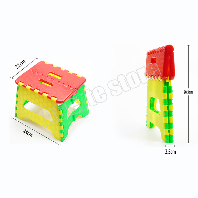 Plastico Ninos Silla Plegable Silla Plegable De Madera Silla De