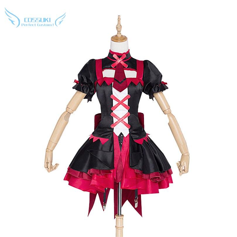Porte Jieitai Kanochi Nite Kaku Rory Mercury Cosplay Costume Costume Cosplay, parfait personnalisé pour vous!