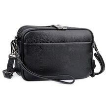 Bolsas Feminina New Arrivals Premium 100% Cowhide Bag Female Genuine Leather Messenger hot Brand Design Womens Shoulder