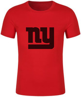 2017 Men Fashion New York Print Giants T Shirt Summer Brand Men T Shirt USA Footballs