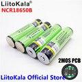 LiitoKala 2018 Original 18650 3400 mah da bateria 3.7 v Rechargebale Li-ion PCB bateria Protegido Para NCR18650B 18650 3400