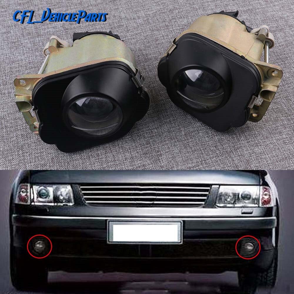 For 1998-2000 Volkswagen Beetle Fog Light Lamp PAIR Left Right Side
