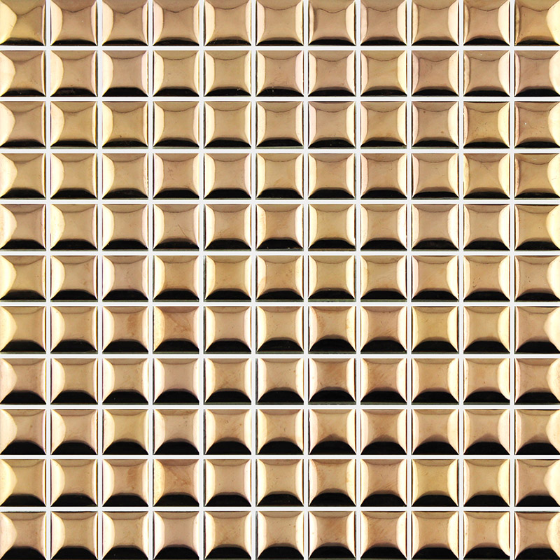 Acquista all'ingrosso online oro mattonelle di mosaico da ...