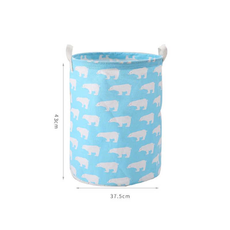 Dropshipping Caixa de Piquenique Algodão Lavar a Roupa Suja cesto de Roupa Suja Cesta De Armazenamento De Brinquedos Dobrável Stand Classificador Orgnizer Conjuntos de Cama