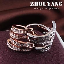 Angel's Wing Rose Gold Color Health Ring Jewelry