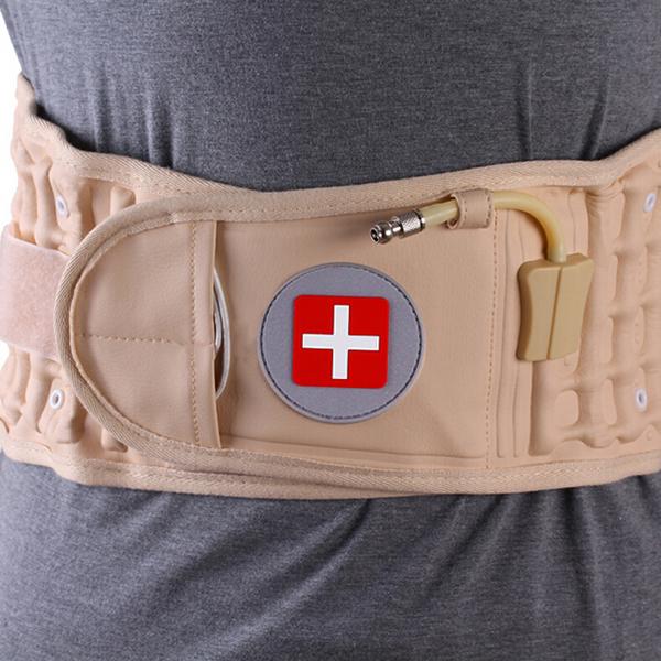 JMRON CR-801 Air Traction Back Brace Waist Belt Lumbar Support Pain Release Massager