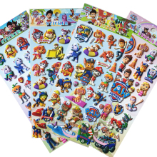 10pcs/set Paw patrol dog Sticker toy Patrulla Canina Action Figures Toy Kids Children Toys Gifts
