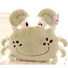 stuffed pillow 50cm kawaii plush toys crab stuffed animal soft plush dolls valentine day gift birthday gift