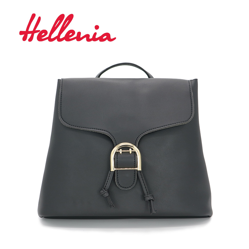 Hellenia 2017 Fashion New Backpack Women bags PU leather Black Travel School Bag girl Mini Bag