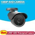 Аналоговый HD Водонепроницаемый Открытый 2-МЕГАПИКСЕЛЬНОЙ AHD Камеры 1080 P CCTV Камеры Ночного Видения Камеры Безопасности Ик-Работа Для AHD DVR