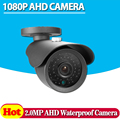HD Analog Waterproof Outdoor 2MP AHD Camera 1080P CCTV Camera Night Vision Security Cam IR Cut Work For AHD DVR