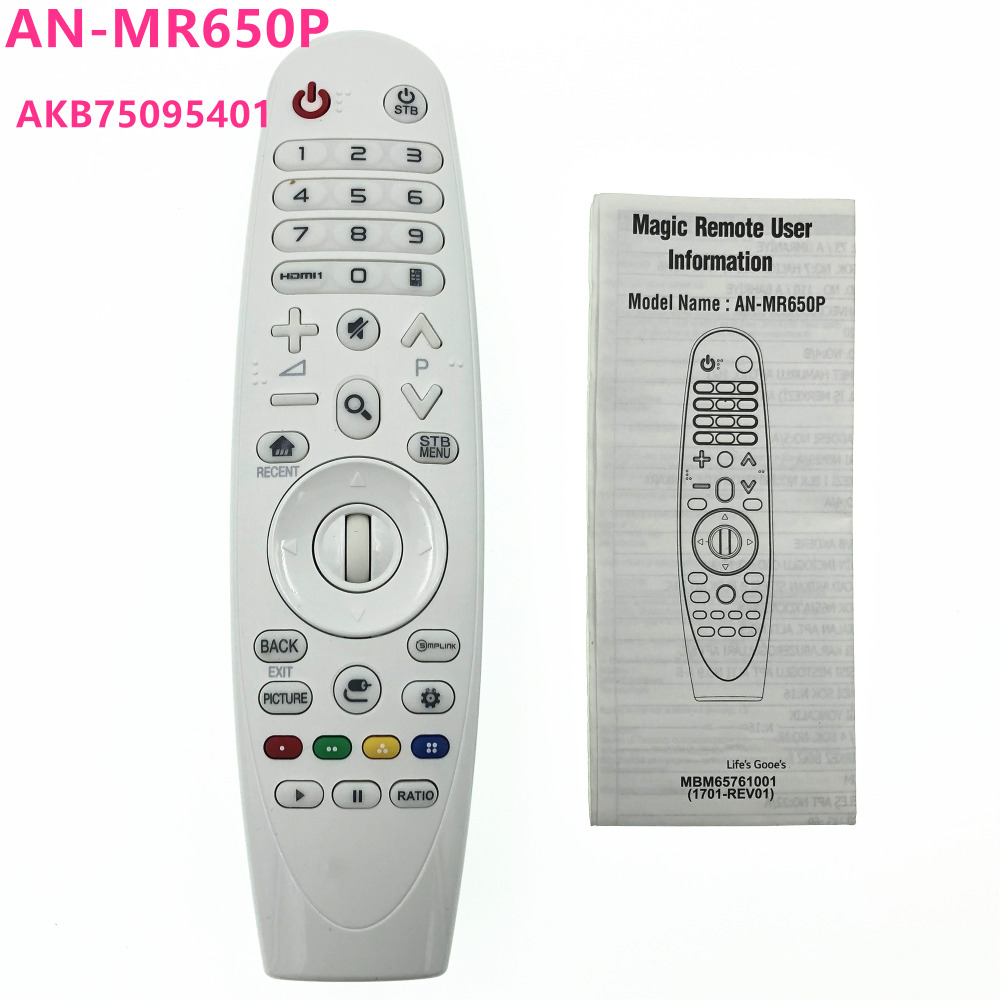 New Original Magic Remote Control AN MR650P AKB75095401 For LG DLP 4k Projectors HF80JA HF85JA HU80KA