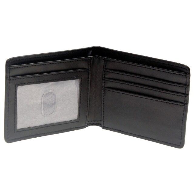Бумажник Капитан Америка черный с логотипом 3