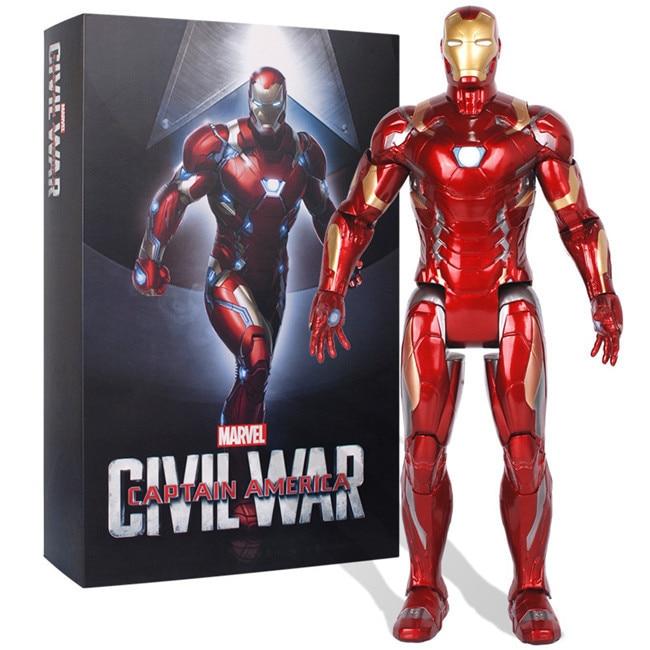"""Marvel Iron Man Tony Stark 7/"""" Avengers 1//10 Action Figure Model Dance Toy Gift"""