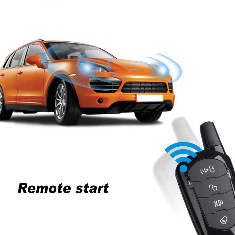 Système d'entrée sans clé alarme de voiture démarrage à distance démarrage automatique démarrage à distance pour démarrage par camion arrêt verrouillage Central alarme automatique verrouillage Central