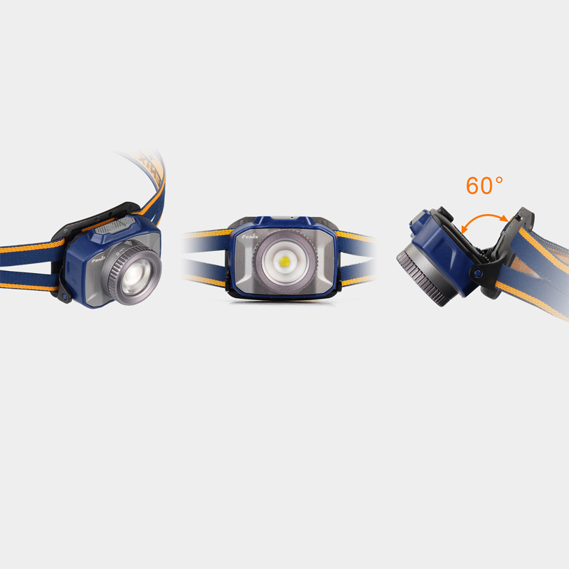 Image 4 - 2018 NEW Fenix HL40R Headlamp rechargeable focusing headlamp Micro USB port fitted with a built in 2000mAh battery-in Portable Lighting Accessories from Lights & Lighting