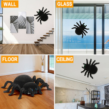 Rc Wall Climbing Spider Simulation Joke Scary Trick Scared Electronic Spider Toy Stranger Things Toys For Children Игрушки