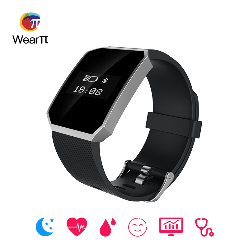 Wearpai WP106 Heart Rate Monitor Smart Band Bracelet Fitness Tracker Activity for Android IOS smartphone