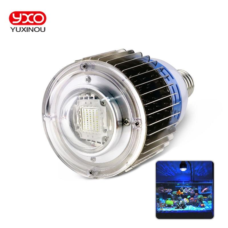 1pcs 100w E27 Aquarium Multichip LED Light Full Spectrum Pendant For Marine Reef,Corals,Reef,Fish Tank