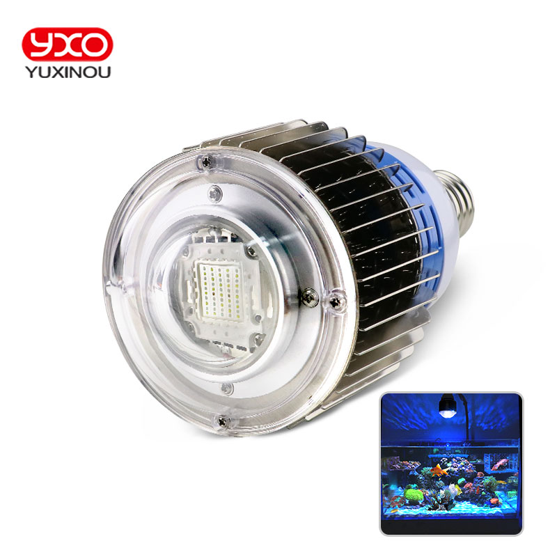 1pcs 50w 100w E27 E40 Aquarium Multichip LED Light Full Spectrum Pendant For Marine Reef,Corals,Reef,Fish Tank 1pcs 100w aquarium light for coral diy 100w multichips led aquarium led chip best for marine fish tank for coral reef growing