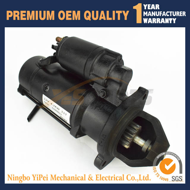 US $175 0 |12V 4 2KW STARTER MOTOR FOR JCB PARTS 3CX 320/09346 32009022-in  Alternator & Generator Parts from Automobiles & Motorcycles on
