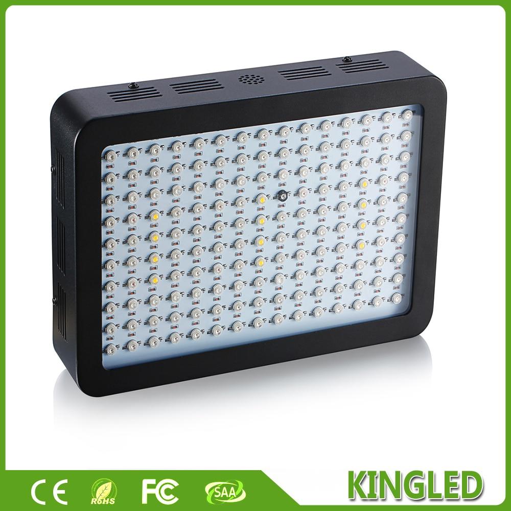 KingLED 450W Black Full Spectrum LED Grow light Panel For Medical Flower Plants Vegetative Flowering Stage Indoor LED Grow Light