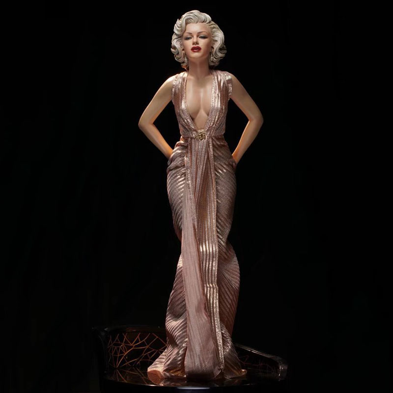 40 cm <font><b>1/4</b></font> <font><b>Sexy</b></font> Marilyn Monroe Collectors Action <font><b>Figure</b></font> Toys Beautiful and Charming Christmas Gift Collection Doll image