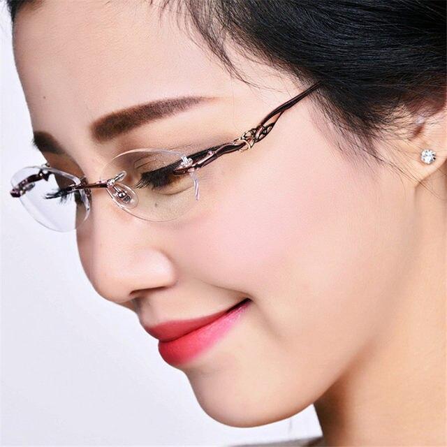 Online Shop New Designer Fashion Designer Glasses Without Frame ...