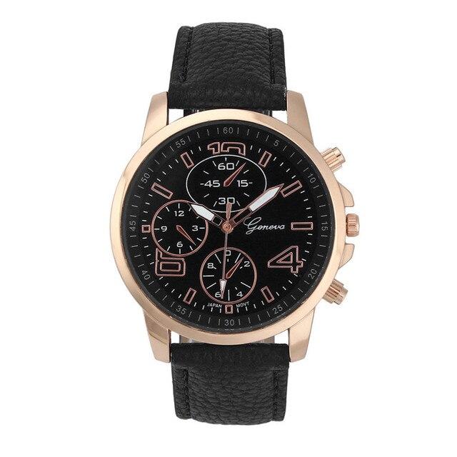 Hot Selling Women Bracelet Watch Brand Ladies Faux Leather Analog Quartz Wrist W