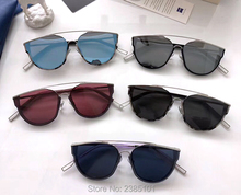 New fashion Trend Cool Retro LOE brand sunglasses gentle women character style Cat Eye sun glass Gafas Oculos De Sol UV400 lens
