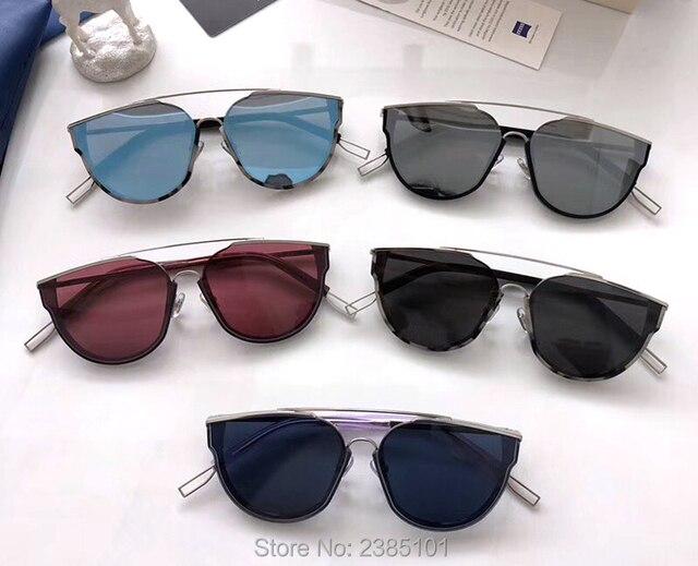 Nova Tendência da moda Retro Cool LOE marca óculos de sol mulheres suaves  estilo caráter Gato e7c060f7ed