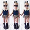 Toddler Kids Baby Girls Summer Beach Outfits Clothes T-shirt Tops Pants 2PCS Set