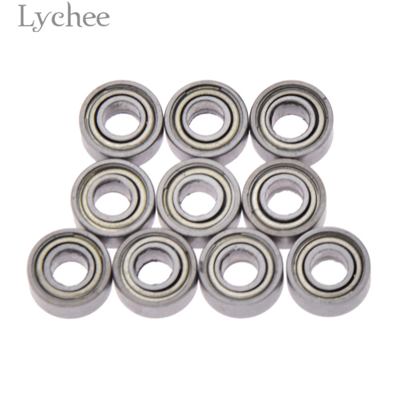 Lychee Life 10pcs 683zz 3x7x3mm Open Miniature Bearings Power Transmission Parts Home Improvement To