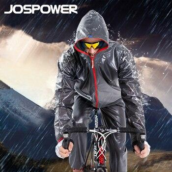 JOSPOWER manteau de vélo vtt vélo équitation imperméable pantalon respirant compressé pare brise imperméable vent manteau costume|Jeux de vélo| |  -