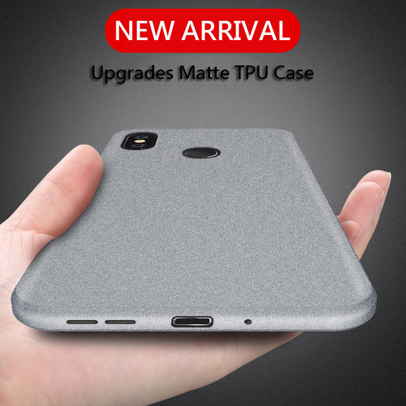 Image 2 - UPaitou Case for Xiaomi Redmi 7A Note 7 5 4 4X 5A Prime 6 K20 Pro 6A S2 GO Anti Fingerprint Case Soft Matte Ultra Thin TPU Cover-in Fitted Cases from Cellphones & Telecommunications