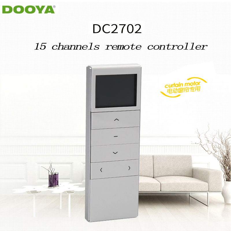 Dooya Sunfloer Smart Home Electric Curtain Motor Remote Controller DC2702  15 -channel Emitter