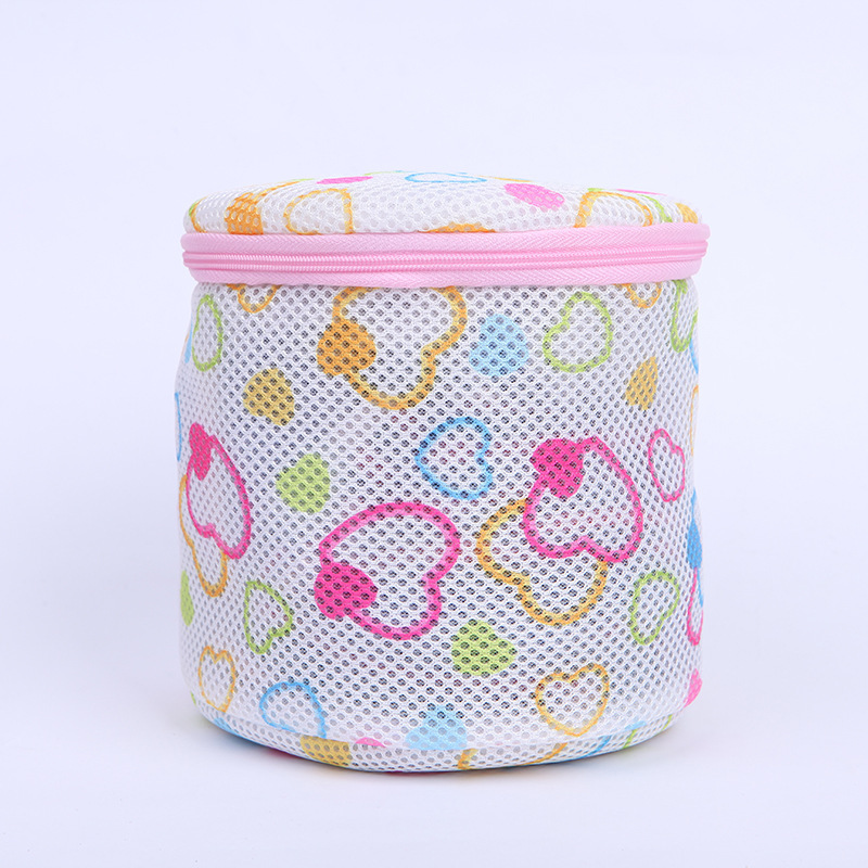 5 Styles Lingerie Mesh Bag Zippered Fine Lines Laundry Bags Bra Underwear Protective Laundry Bag For Washing Machines Laundry