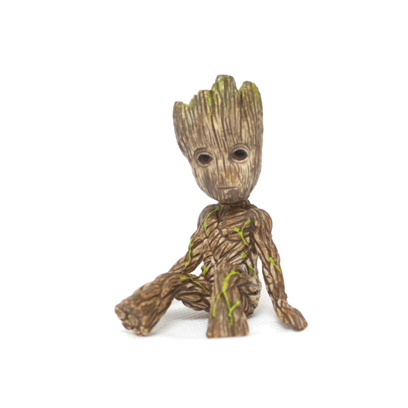 (Josephina) New Arrival Baby Grootted Grunt Tree Man Figures Toy Guardians of Galaxy Dancing Movie Figures Toys Pendants Doll 2016 new arrival the guardians galaxy mini dancing tree man action figure model toy doll