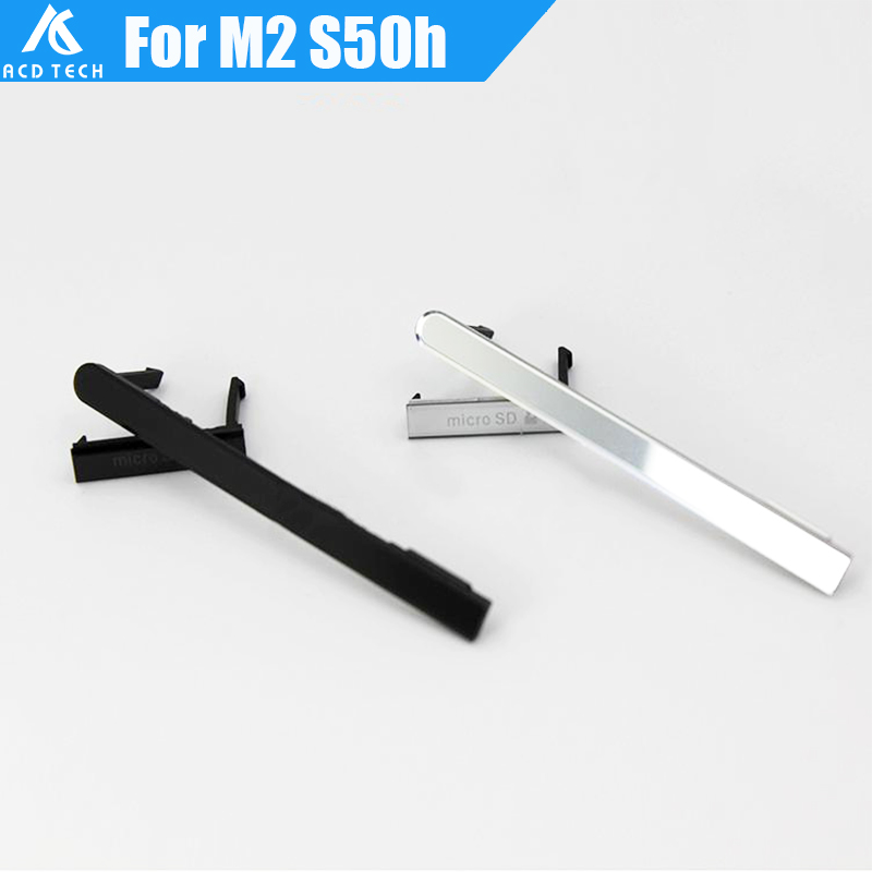USB Charging Port +Sim Card +Micro SD Jack Port Slot Cover for Sony Xperia M2 S50H Dual D2303 D2305