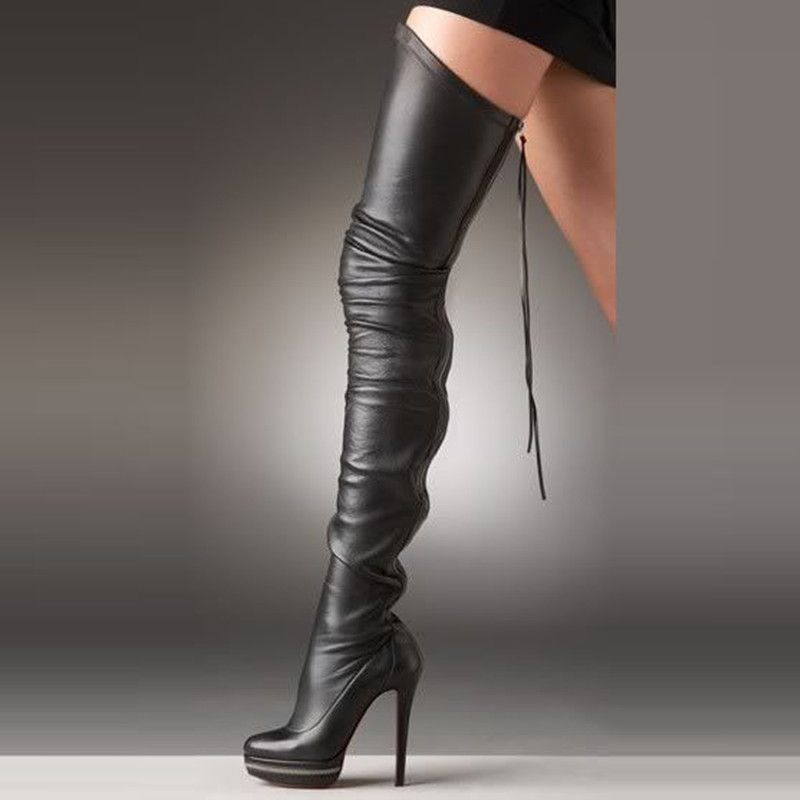 5248311a258 Buy long black boots and get free shipping on AliExpress.com