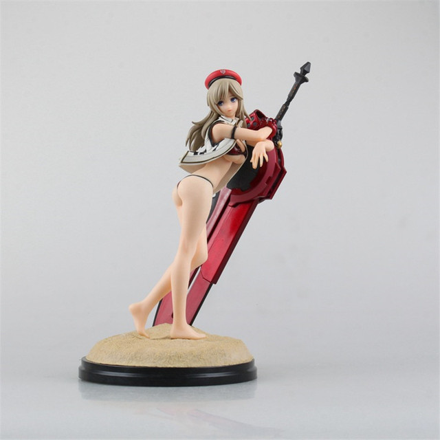 Japan Anime Action Figure God Eater 2 Alisa Dollfie Dream Swimwear 23CM PVC Model Toy With Box Collection Figure Toys XX0002