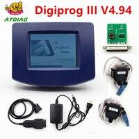 Digiprog III V4.94 Digiprog 3 FTDI Chip FT232BT A++ OBD2 ST01 ST04 cable odometer correction tool Digiprog3 Change mileage