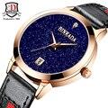 Women Watches Brand BINKADA Fashion Quartz watch Women's Clock relojes Dress Ladies Watch Business New Leather Luxury Wristwatch